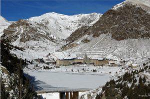 La valle in inverno