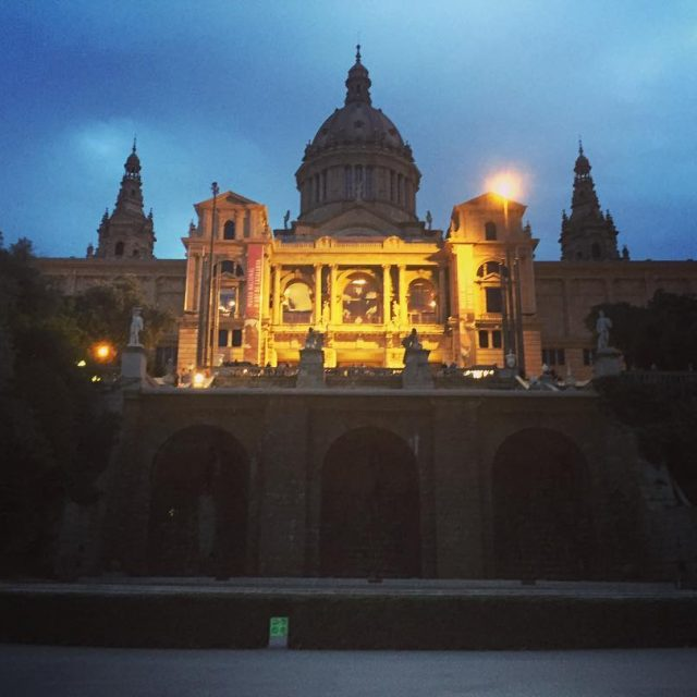 This city is full of beautiful places barcelona bcn montjuichellip