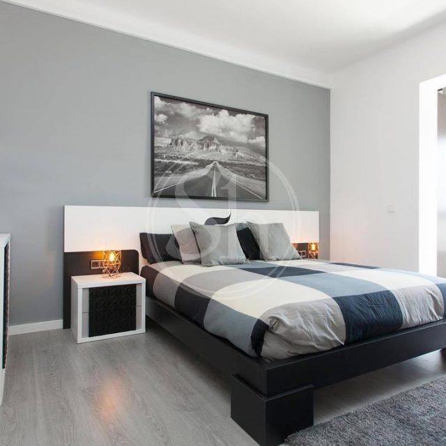 Design and modern bedroom barcelona rental apartment shbarcelona spain catalunyahellip